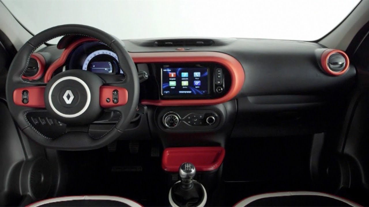 2014 renault twingo interior youtube. Black Bedroom Furniture Sets. Home Design Ideas