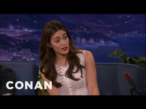 Emmy Rossum Sings Opera For A Hot Dog  Conan on TBS