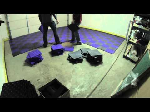pvc fliesen f r garagen und doovi. Black Bedroom Furniture Sets. Home Design Ideas