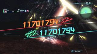 Xenoblade Chronicles X - Telethia, the Endbringer In 34 Seconds Solo (Raygun/Knife, No Potential)