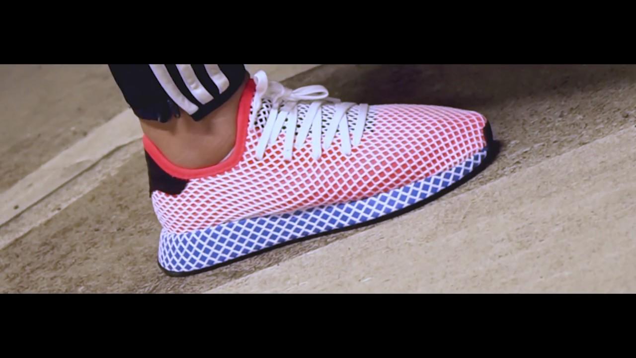 42d12a0542efb adidas Deerupt On Feet - YouTube