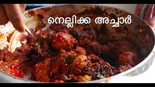 Nellikka Achar  Kerala Style Pickle Recipe  GooseberryAmla Pickle