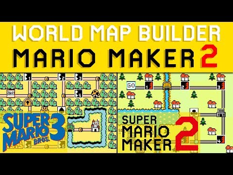 WORLD MAP MAKER for SUPER MARIO MAKER 2!? - YouTube on housing maps, google maps mania, map software for os x, maps of the world, map captain, maps on us, map creation freeware, map engineering company, map maker pro, map of amtrak through glacier park,