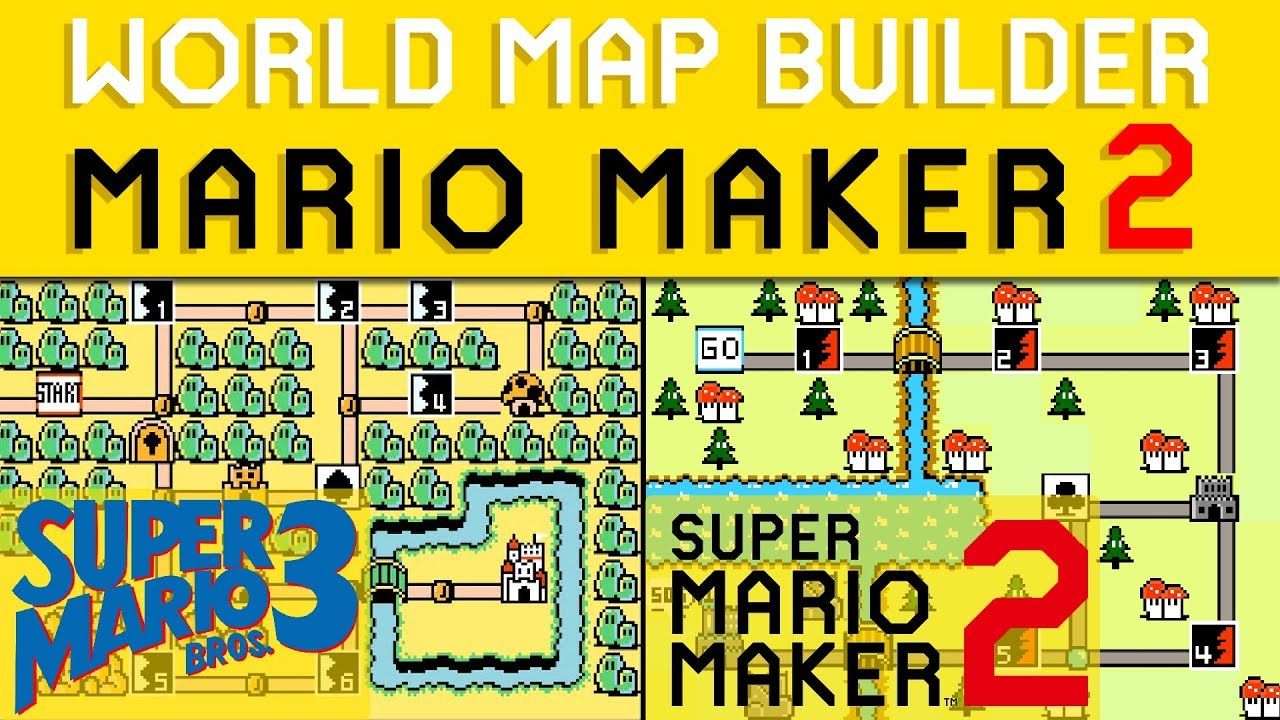 WORLD MAP MAKER for SUPER MARIO MAKER 2!?