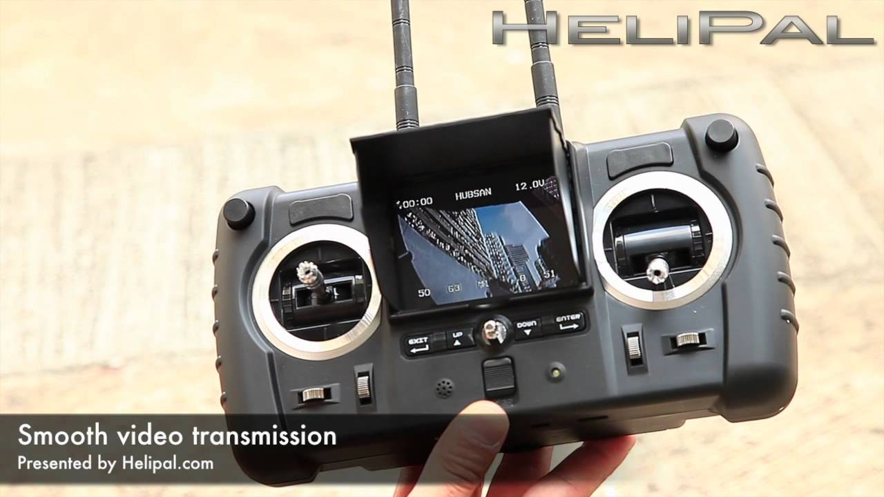 HeliPal com - Hubsan 5 8Ghz Transmitter Review