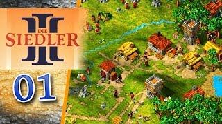 Die Siedler 3 #001 - Es wuselt in allen Ecken! - Let's Play