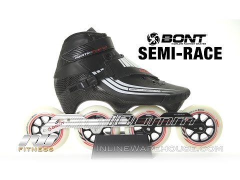 Bont Semi-Race Speed Skates & Boots Only Review