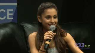 Ariana Grande LIVE Chat Session at 93.3 FLZ