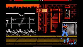Teenage Mutant Ninja Turtles - Tournament Fighters - -Casey Jones Vs The Shredder- Vizzed.com - User video