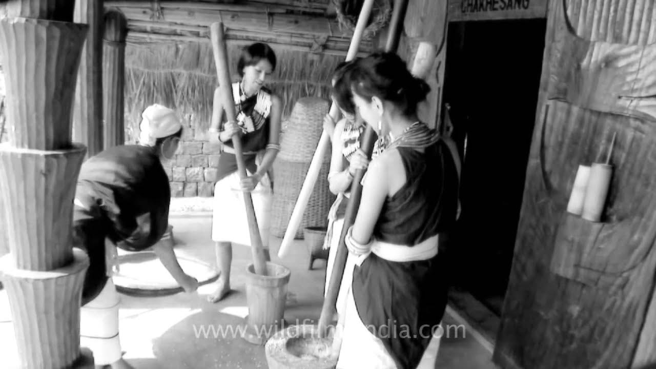Nagaland folk song | Hiyo Hiyo - Tetseo sisters | The Best of India