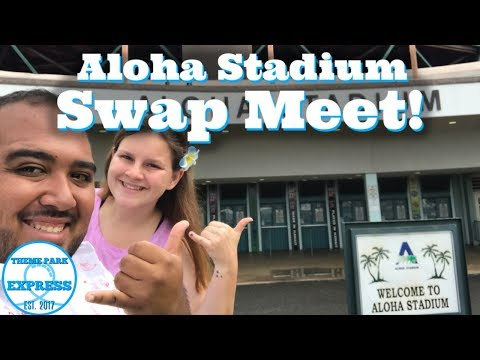 Aloha Stadium Swap Meet Flea Market Honolulu, Hawaii 2019