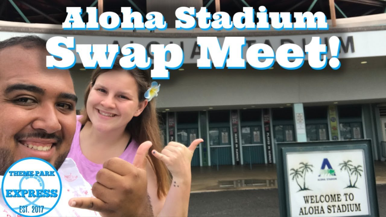 Aloha Stadium Swap Meet Flea Market Honolulu, Hawaii 2019