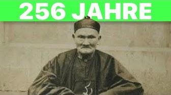 Dieser Mann ist unglaubliche 256 Jahre! (Der älteste Mensch der Welt)
