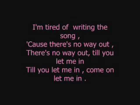 Eyes Set To Kill - Let Me In Lyrics
