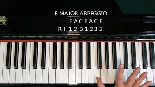 F Major Arpeggio