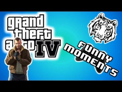 GTA IV Funny Moments 4 - Funny Stunts, Epic Jumps, and Goofy Gangsta Walk Funny Deaths