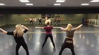 Billie Eilish dancing in her old dance studio