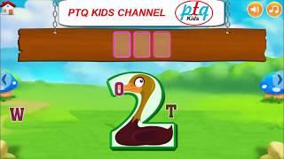 Learn color and number for kids - Dạy màu và số cho Bé