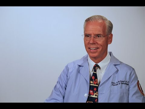 Ophthalmologist: James McDonnell, MD