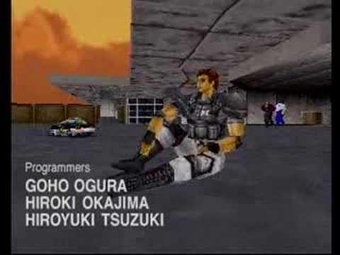 Virtua Cop 2 (Sega Saturn) - Level 4 (and ending) (1/13/08)