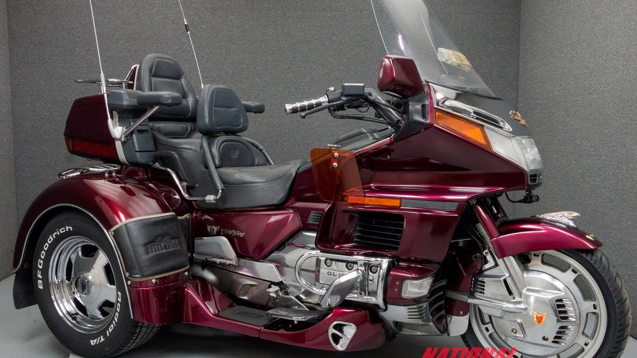 1990 honda gl1500 goldwing 1500 motor trike national. Black Bedroom Furniture Sets. Home Design Ideas