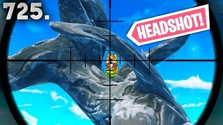 *ONE IN A MILLION* SNIPER SHOT! - Fortnite Funny WTF Fails and Daily Best Moments Ep.725