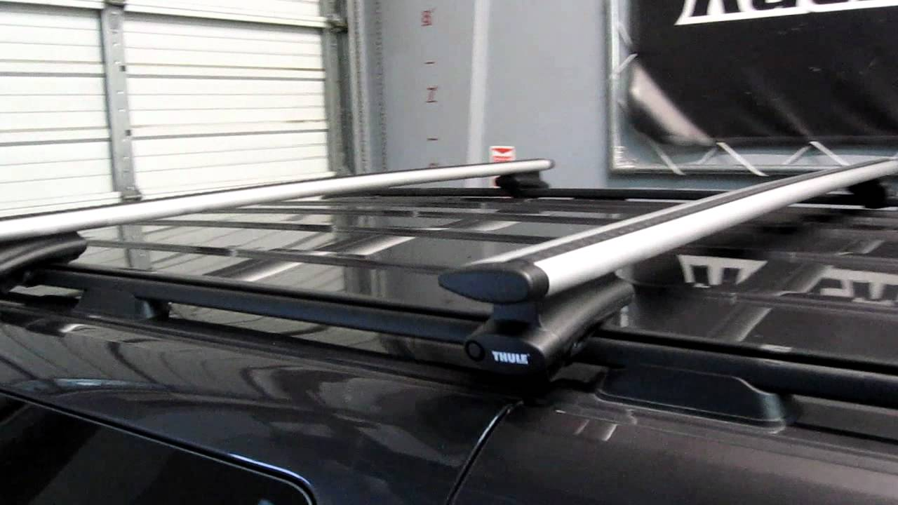 Chevrolet Suburban With Thule 450R Crossroad AeroBlade Roof Rack By Rack  Outfitters