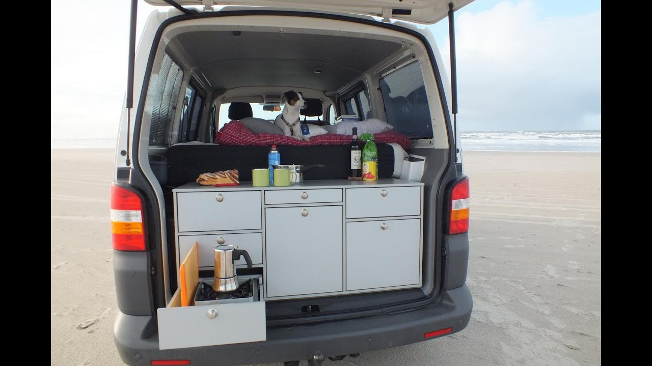 ecocamper vw campingbus mieten d nemark youtube. Black Bedroom Furniture Sets. Home Design Ideas