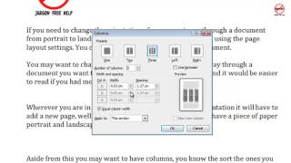 How to Create Columns in Word for Newsletters