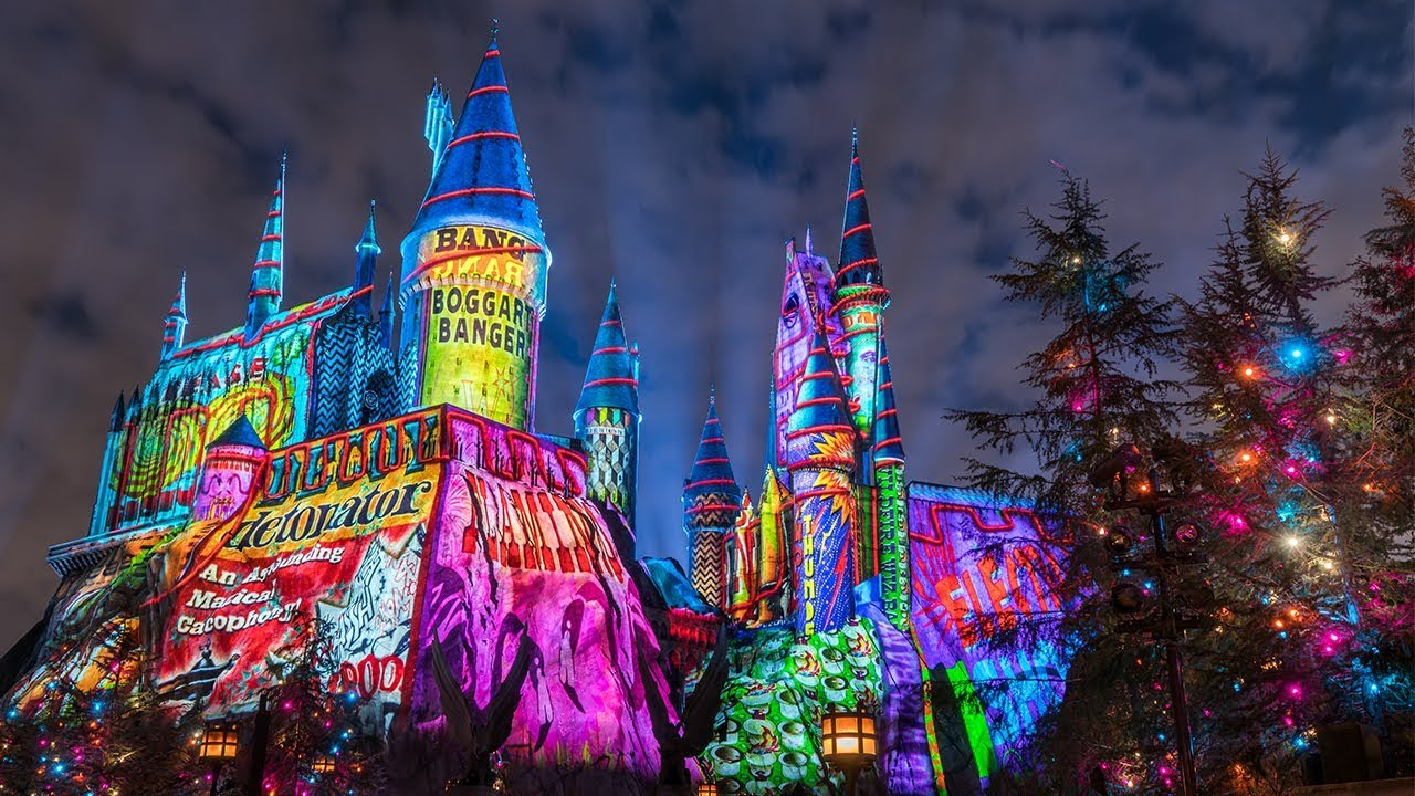 Universal Studios Christmas.Now Open Holidays At Universal Orlando Resort 2017