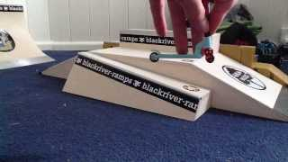 finger scooter pro tricks tutoial