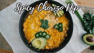 Spicy Keto Chorizo Dip   Low Carb Appetizer