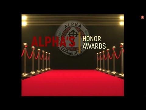 Alpha Learning Academy 3rd  Nine Weeks Honor Students !!
