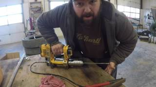 How to bleed a grease gun every time!