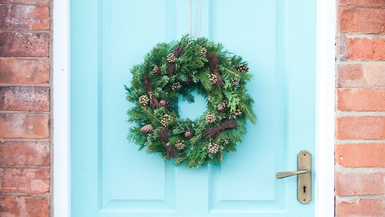 christmas door wreaths doors double zoom listing il fullxfull swag