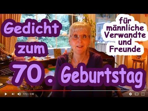 Fg245 Gedicht Zum 70 Geburtstag Für Männerfreundecousinsonkels Etc Herzlichen Glückwunsch