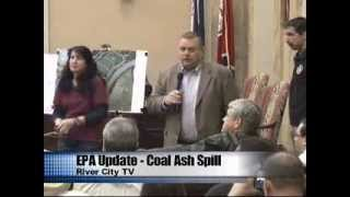 Environmental Protection Agency EPA Meeting Danville, Va - Coal Ash Spill Update