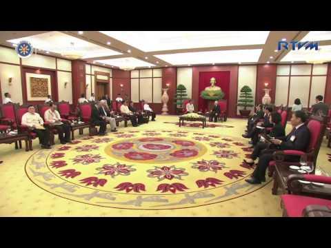 Courtesy Call on CPVCC General Secretary Nguyễn Phú Trọng 9/29/2016