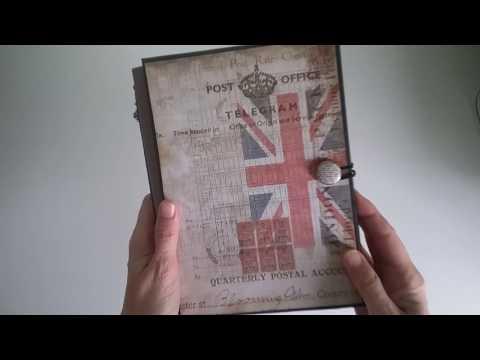 Travel book / Libro de viaje scrapbooking