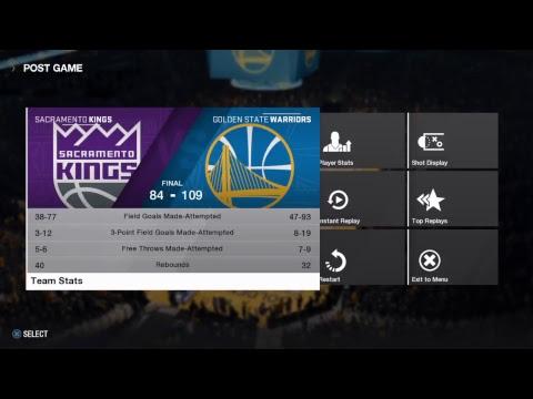 NBA LIVE 18: (Preseason) Sacramento Kings Vs Golden State Warriors