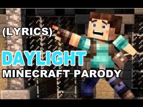 ♪ DAYLIGHT - A MINECRAFT PARODY OF MAROON 5