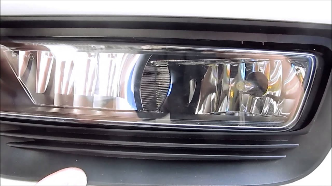 DIY  2013 2014 2015    Honda       Accord    Sedan Foglight bulb Replacement  YouTube
