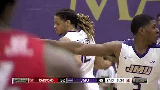 HIGHLIGHTS   JMU Men's Basketball vs. Radford