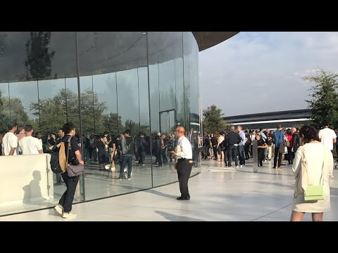 Thumbnail: Live from Apple's iPhone 8/X event at Steve Jobs theater