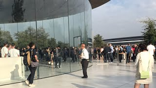 Live from Apple's iPhone 8/X event at Steve Jobs theater