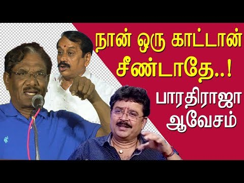 Bharathiraja ultimate warning to s ve shekhar tamil news live, tamil live news news redpix  governor