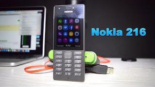 Обзор Nokia 216