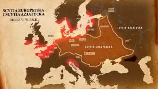 Terytorium i stolice Imperium Lechitów na przestrzeni wieków