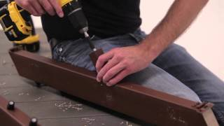 Timbertech Evolutions Rail™ Builder With Metal Balusters For Stairs Install