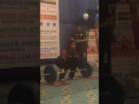 Punjab power lifting competition